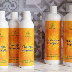 Higiene para muchas semanas: 2 Gel y 3 Champús