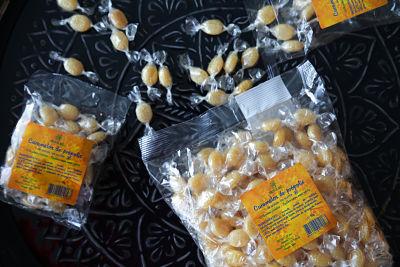 caramelos de própolis de 75 y 500 g