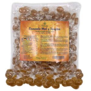 Caramelos (Sin Azúcar) con miel y jengibre Propol-mel 500 g